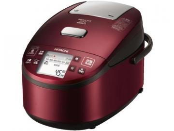 Hitachi RZ-WV100M  Rice Cooker, Red