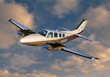Beechcraft Baron G58 civil utility aircraft