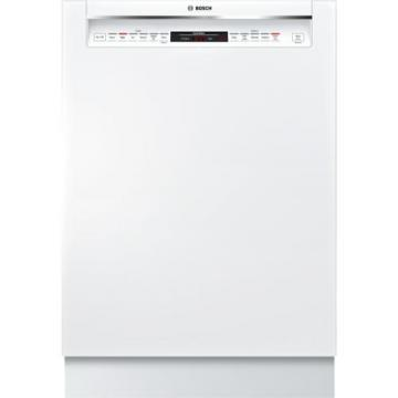 "Bosch SHEM78W52N 800 Series 24"" Recessed Handle Dishwasher"