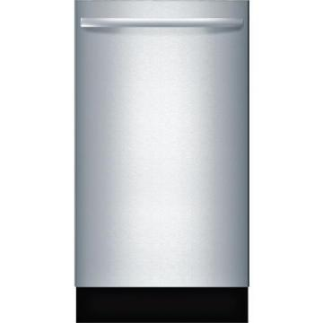 "Bosch SPX68U55UC 800 Series 18"" Special Application Bar Handle Dishwasher"