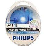 Philips Diamond Vision H1 Halogen HID Super White 5000K (Pair)