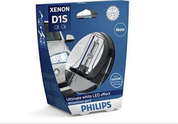 Philips WhiteVision Xenon Headlight Bulb D1S Gen2