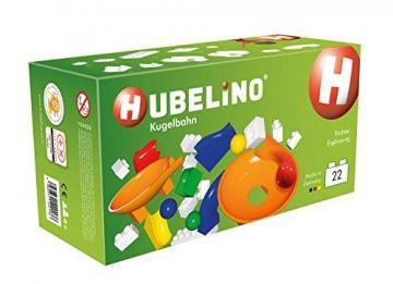 Hubelino Marble Run - Twister Extension Set - 22pcs