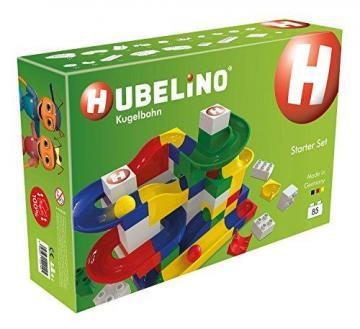Hubelino Marble Run - Starter Set - 85pcs