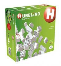 Hubelino Marble Run - 105 White Building Blocks