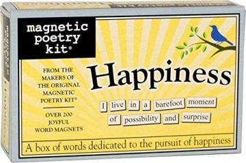 Magnetic Poetry Happiness Kit - Words for Refrigerator