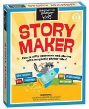 Magnetic Poetry Kids Story Maker Kit - Words for Refrigerator