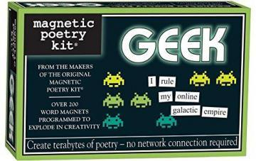 Magnetic Poetry Geek Kit - Words for Refrigerator