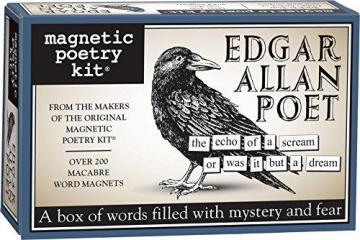 Magnetic Poetry Edgar Allan Poet Kit - Words for Refrigerator