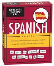 Magnetic Poetry Spanish Kit - Words for Refrigerator