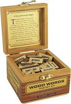 Magnetic Poetry Wood Words - Write Poems and Letters on Your Desktop