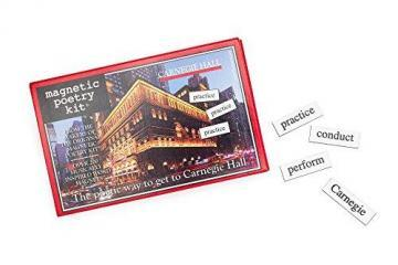 Magnetic Poetry Carnegie Hall Magnetic Poetry Kit