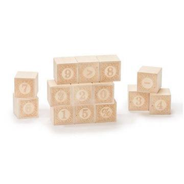Uncle Goose Alphablanks Numbers Blocks