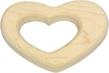Maple Landmark Heart Shaped Maple Teether