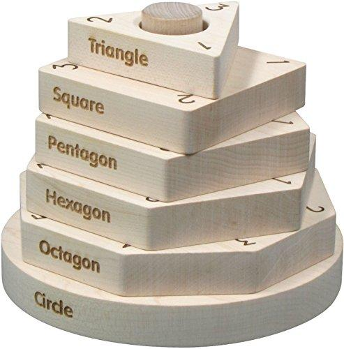 Maple Landmark Natural Shape Stacker