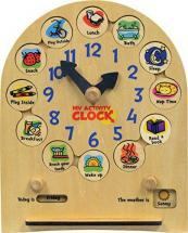 Maple Landmark My Activity Clock