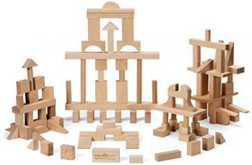 Maple Landmark Master Builder Block Set