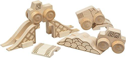 Maple Landmark Mini Monster 12 piece play set