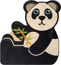 Maple Landmark Panda Shaped Puzzle