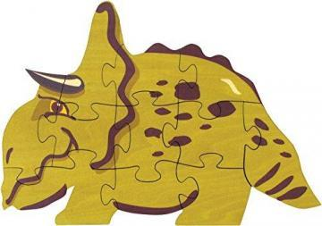 Maple Landmark Dinosaur Shaped Puzzle