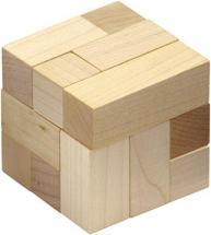 Maple Landmark Natural Soma Cube