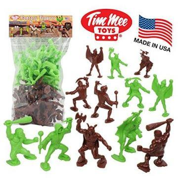 Tim Mee Legendary BATTLE Fantasy Figures: 24pc 70mm Set