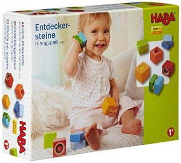 HABA Fun with Sounds Wooden Discovery Blocks with Acoustic Sounds