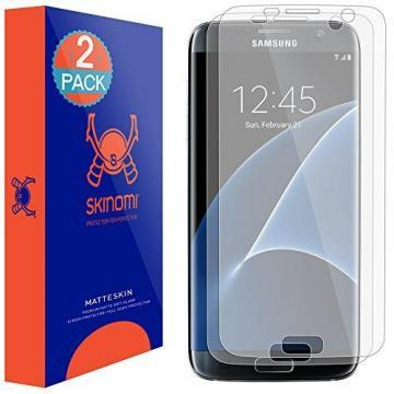 Skinomi MatteSkin Galaxy S7 Edge Screen Protector