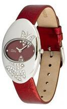 Moog Paris Butterflies Women's Watch with red dial, red strap