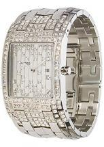 Moog Paris Jewel Rain Women's Watch with silver dial, silver strap