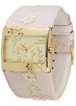 Moog Paris Secret Women's Watch with white dial, pink strap