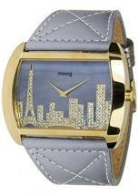Moog Paris Skyline Women's Watch with gray dial, grey strap