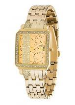 Moog Paris G.T. Women / Men Watch with gold dial, gold strap