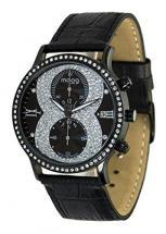 Moog Paris Chrono in 8 Women's Chronograph Watch with black dial