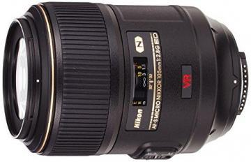 Nikon AF-S VR Micro-NIKKOR 105mm f/2.8G IF-ED Vibration Reduction Fixed Lens