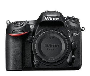 Nikon D7200 DX-format Digital SLR Body