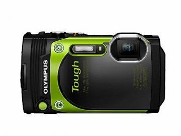 Olympus TG-870 Tough Waterproof Digital Camera Green