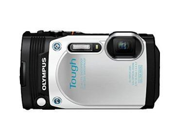 Olympus TG-870 Tough Waterproof Digital Camera White
