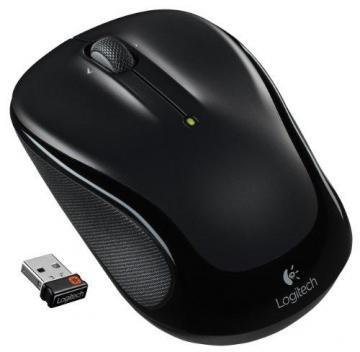 Logitech M325 Wireless Mouse for Web Scrolling Black