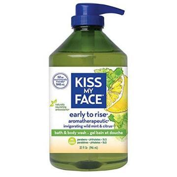 Kiss My Face Bath and Body Wash Early To Rise 32 oz
