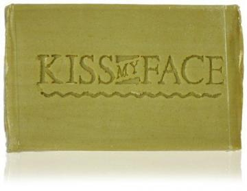 Kiss My Face Bar Soap, 4.0 oz, Pure Olive Oil, Fragrance Free