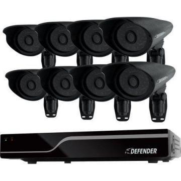 Defender Security 8 Channel DVR CCTV System 4 Bullet Cameras