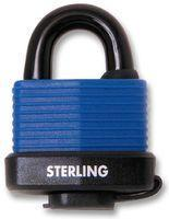 Sterling Security Laminated Steel Weatherproof Padlock 49mm - Keyed Alike