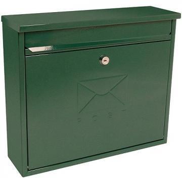 Sterling Security Elegance Post Box Green Powder Coated