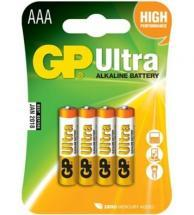 GP Ultra Plus Alkaline AA Batteries 4 Pack