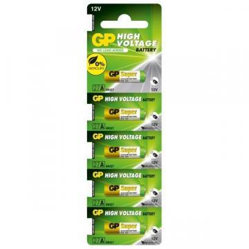 GP High-Voltage Super Alkaline 12V Batteries 5 Pack