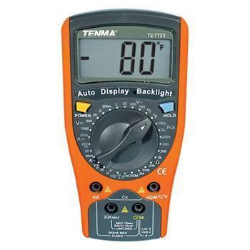 Tenma 600A DC Digital Clamp Meter