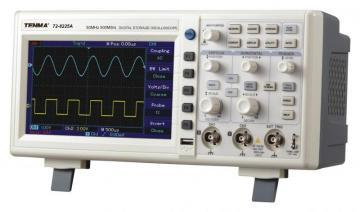 Tenma 50MHz 2 Channel Digital Oscilloscope with 500MS/s Sampling Rate