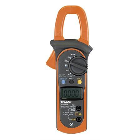 Tenma 400A True RMS AC/DC Digital Clamp Meter with Frequency