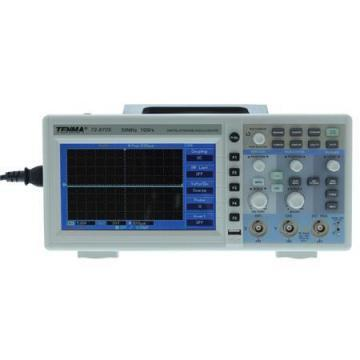 "Tenma 2 Channel 50MHz Digital Storage Oscilloscope with 7"" LCD Display"